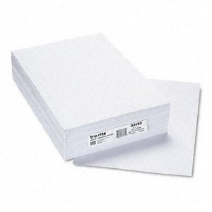 Everett Pad - Everett Pad & Paper White Sulphite Drawing Paper, 80 Lb., 12