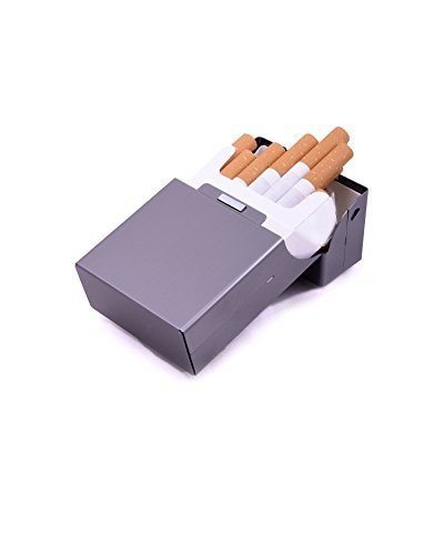 Scatola Per Metallo Alluminio Sigarette Multipli Colori Argento Grigio Porta Pacchetto Zigarettentui Di Selezionabile 0xrqE50npw