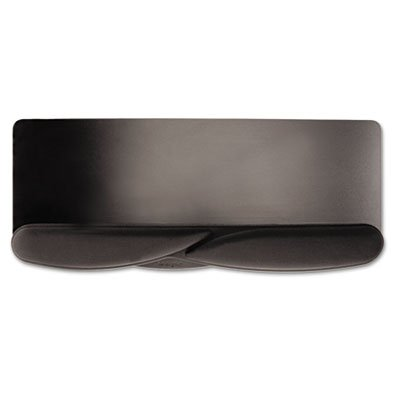 Elongated base for both keyboard and mouse. - KENSINGTON Wrist Pillow Foam Extended Keyboard Platform Wrist Rest, Black