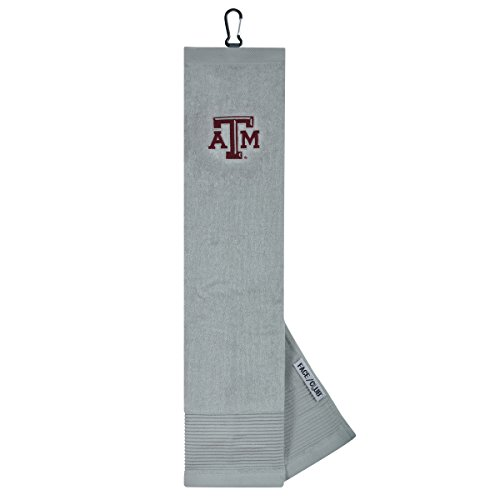 Texas A&M Aggies Face/Club Embroidered Towel