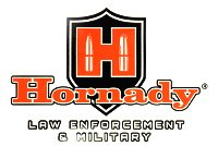 (Hornady LE Sticker, White/Red)
