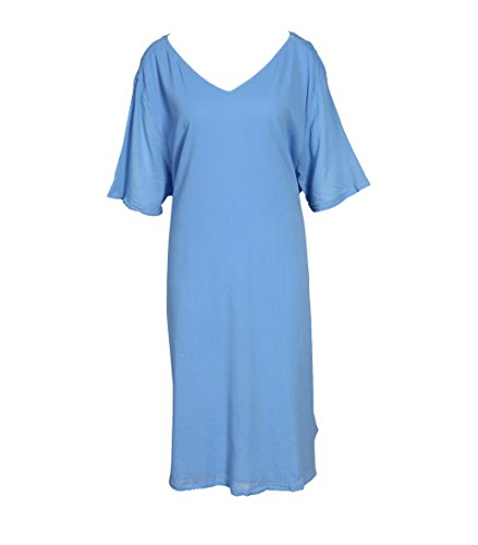 in Kleid Ybanut Bleuet American Damen Vintage Hellblau fnqxw78IZ1