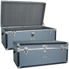 Classic Silver Trunk Size: 36