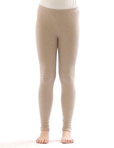5 opinioni per Bambini Termo Ragazza leggins Pantaloni lunghi di cotone Fodera Pile
