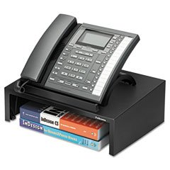 "** Designer Suitesâ""¢ Telephone Stand, 13 x 9 1/0 x 4 2/5, Black Pearl **"