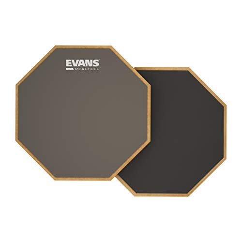 Evans 2-Sided Practice Pad, 6 Inch (Pad Sided Practice Single)