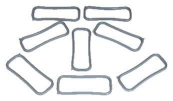 ACDelco 12533587 GM Original Equipment Intake Manifold Gasket Kit with Side Intake - Intake Corvette Gasket Manifold