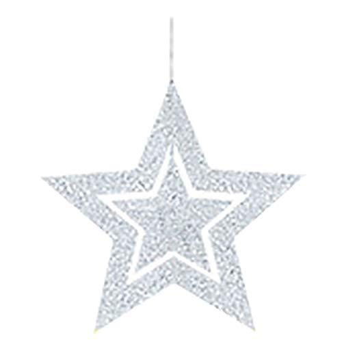 Drape - Good Hollow Star 7pcs Lot Set Of Straps Christmas Year Festivals Wedding Ornaments Ceiling Mounts - Airtight Queen Books Unicorn Reusable Star Necklaces Essential Right Orange Drivers