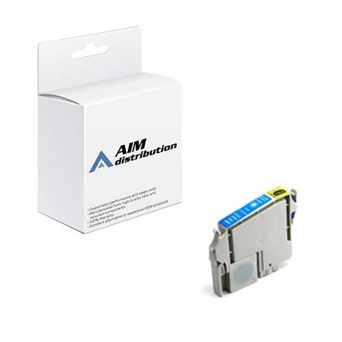 (AIM Remanufactured Replacement for Stylus C70/80 Cyan Inkjet (420 Page Yield) (T032220-US))