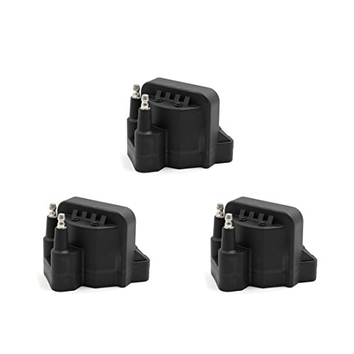 Pontiac Bonneville Ignition Coil (uxcell Set of 3 Ignition Spark Coil for Buick Chevrolet Cadillac GMC Pontiac DR39 IC39 D555)