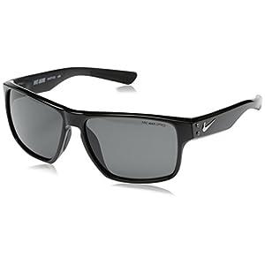Nike Dark Grey Lens Mavrk Sunglasses, Black/Matte Black