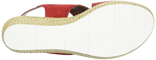 Sandals 28362 Chili Heels Wedge Red MARCO premio WoMen TOZZI 533 wqnUZxt4BY