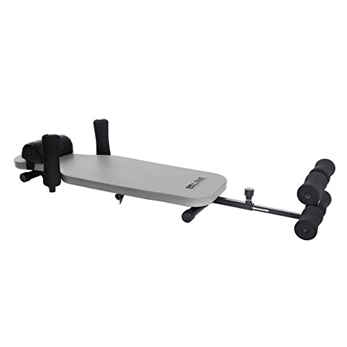 Stamina In Line Back Stretch Bench (Black/Grey)