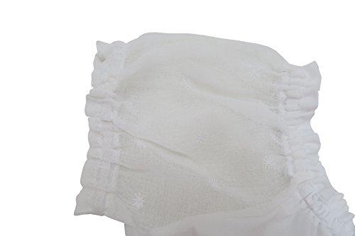 Spieth & Wensky Trachten Dirndlbluse Carmenstil - ELLE - weiß Größe 44