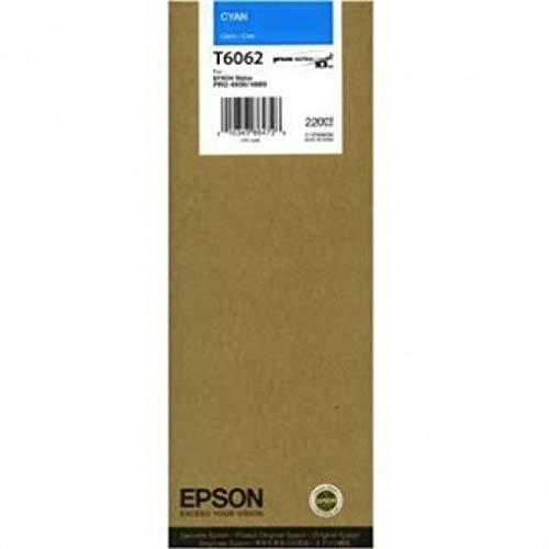 Epson UltraChrome K3 Ink Cartridge - 220ml Cyan (T606200) ()