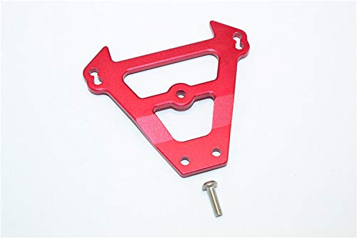 CrazyRacer for Traxxas EREVO 2.0 VXL Revo E-Revo Aluminum Front Bulkhead Tie Bar - 1PC for 5323 Red