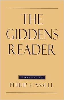 The Giddens Reader by Anthony Giddens (1993-09-02)