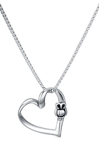 Heart Pendant Necklace Chain Stainless