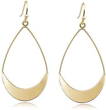 Skinny Rectangle Earrings Dangle Drop Bar Earring Wood Earrings Unique Designs Made in the USA Lightweight Earrings Organic Earrings