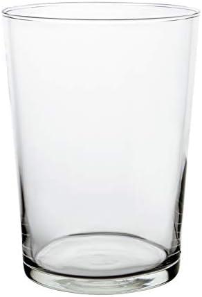 Set de 4 vasos de vidrio,Capacidad: 53cl,Apto para lavavajillas
