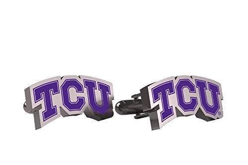AdSpec NCAA TCU Horned Frogs Mens Cufflinks - Horned Cufflinks Tcu Frog