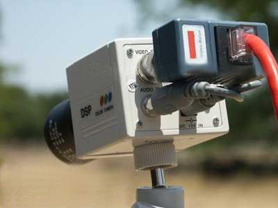 VideoSecu 1 Pair Video Balun Network Transceiver with Video Audio Power Connectors 1EK