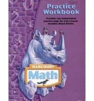 Harcourt Math: Practice Workbook, Grade 4