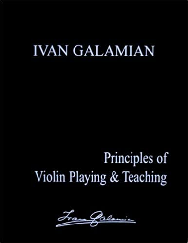 Principles of Violin Playing & Teaching by Ivan Galamian (1985-12-24)