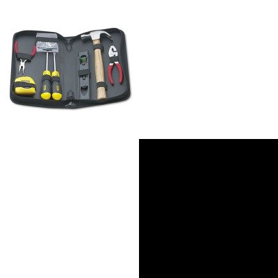 KITBOS34106BOS92680 - Value Kit - Stanley bostitch Long Tape Measure (BOS34106) and Stanley General Repair Tool Kit in Water-Resistant Black Zippered Case (BOS92680)