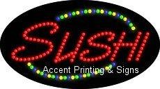 Sushi Flashing & Animated LED Sign (High Impact, Energy Efficient)