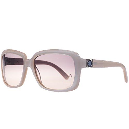 Mont Blanc Women's 466S 466/S 74F Beige Sunglasses 59mm