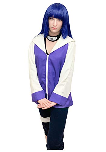 DAZCOS US Size Anime Purple Hinata Women's Cosplay Costume