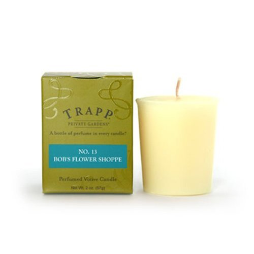 Trapp 2 oz Poured Candle No. 13 Bob's Flower Shoppe by Trapp