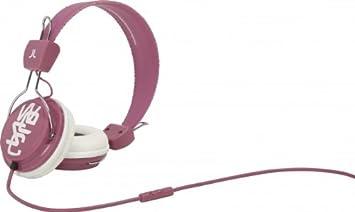 WeSC 0006995422 Conga - Auriculares supraurales (incluye adaptador para teléfonos Sony Ericsson y Nokia)