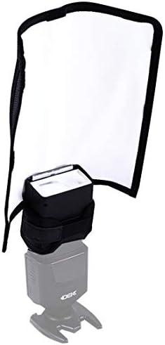 KANEED カメラアクセサリー 撮影機材 K-B23折りたたみポータブル反射板、3つのホース内蔵、サイズ:28.3 x 24.