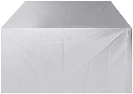 ガーデンファニチャ―カバー ソファ椅子テーブルカバーパティオのベンチプロテクター屋外の防水家具カバー 防水性 防塵性 汚れ防止バー ガーデン屋外用 (Color : Silver, Size : B)