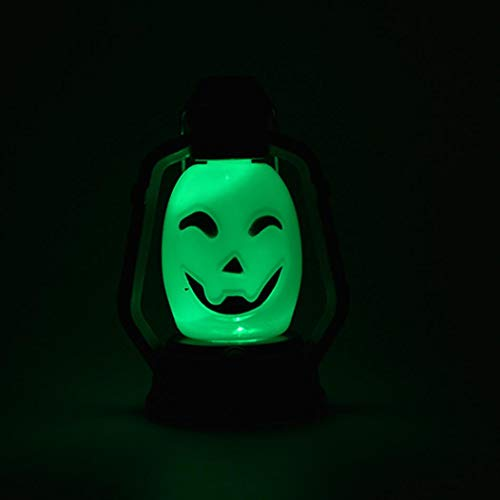 Gbell Scary Ghost Halloween Night Lights for Kids Adults,Indoor Outdoor Halloween Party Decoration Props Toy Kids Gifts,1Pcs 10cm×7cm