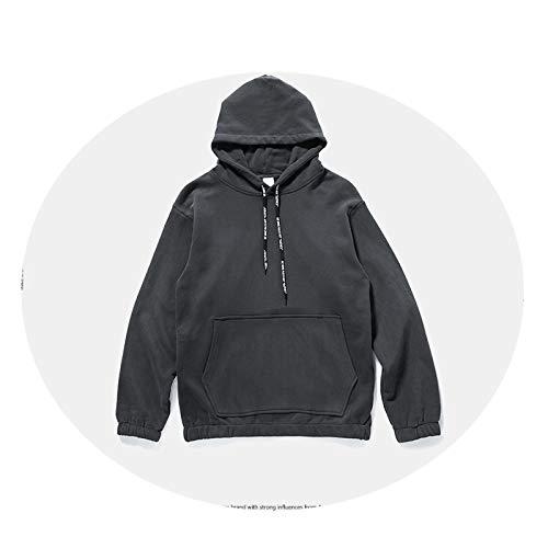 Coat Noir Hommes Américain Européen Pour À Pull Et Capuche rZ6w1rq