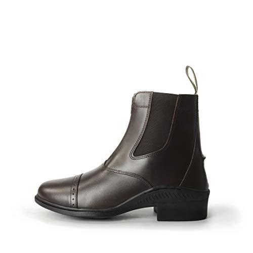 Boot Zip Tivoli Brogini Brown Short up qZOHHIw