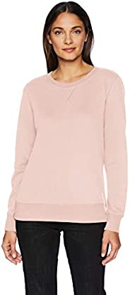 Amazon Essentials Women's French Terry Fleece Crewneck Sweats