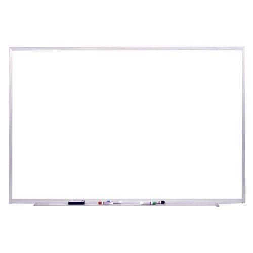 - Ghent 4 x 8 Porcelain Magnetic Whiteboard, Aluminum Frame, 1 Marker, 1 Eraser, Made in the USA (M1-4-4 )