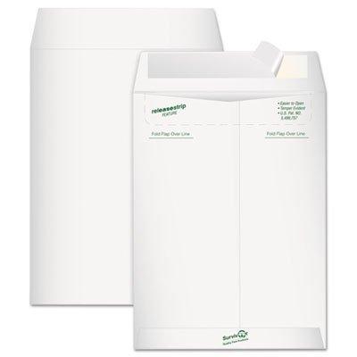 Tyvek Mailer, Side Seam, 9 x 12, White, 15/Pack, Sold as 15 Each