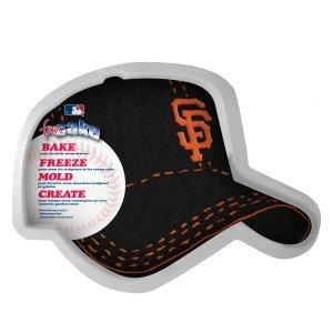 MLB San Francisco Giants Fan Cakes Heat Resistant CPET Plastic Cake -