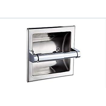 Ldr 162 4634 Prestige Recessed Toilet Paper Holder Chrome