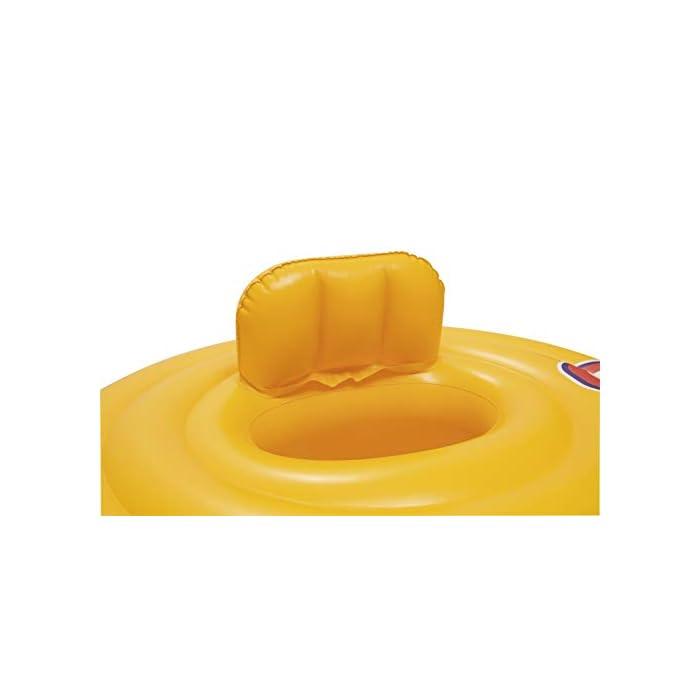311nc4UJgQL Flotador rosco con asiento para bebe. Flotador para bebés. Asiento con estilo de pañal.