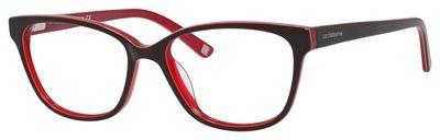 620 Eyeglasses (LIZ CLAIBORNE Eyeglasses 620 0JNS Chocolate Red)
