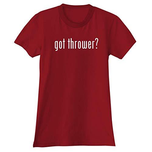 got Thrower? - A Soft & Comfortable Women's Junior Cut T-Shirt, Red, XX-Large ()
