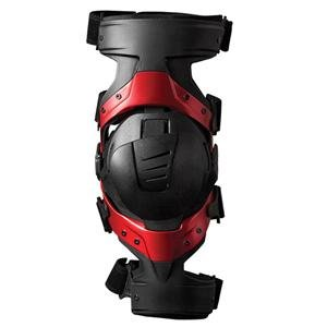 EVS Axis Sport Knee Brace Set - Small Pair/Black/Red by EVS (Image #2)