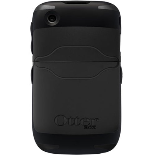 OtterBox Reflex Series Case for BlackBerry Curve 8500/9300 - 1 Pack - Retail Packaging - Black