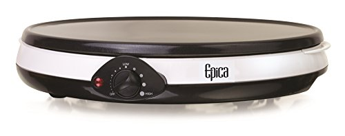 Epica 12-Inch Nonstick Electric Griddle and Crepe Maker – Easy way to make great crepes!!
